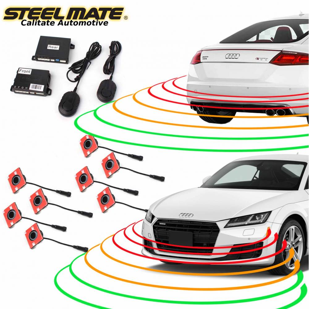 senzori-de-parcare-fata-si-spate-steelmate-pts810ex-cu-aspect-oem-fara-display